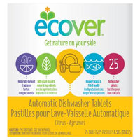 Ecover Natural Automatic Dishwashing Tablets Citrus