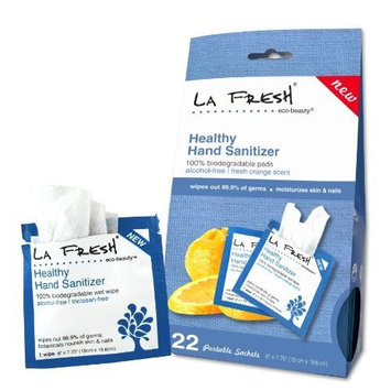La Fresh Eco Beauty Healthy Healthy Hand Sanitizer Wipes, 22 Count