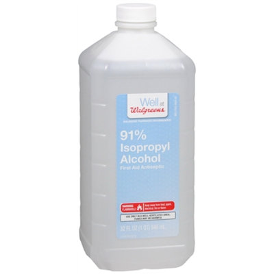 Walgreens Isopropyl Alcohol First Aid Antiseptic