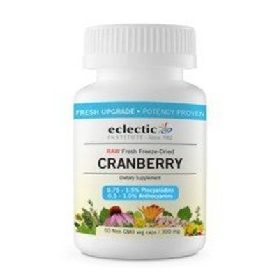 Cranberry 300mg Freeze-Dried Eclectic Institute 50 VCaps