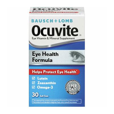 Bausch + Lomb Ocuvite Eye Vitamin & Mineral Supplement Soft Gels