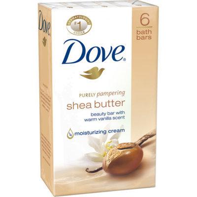 Dove Nourishing Care Shea Butter Beauty Bars 6 Pack