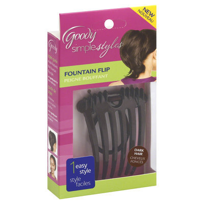 Goody Simple Styles Fountain Flip, 1 CT