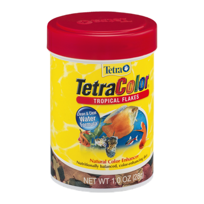Tetra TetraColor Tropical Flakes