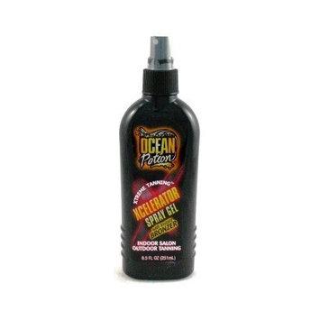 Ocean Potion Xcellerator Spray Gel With Bronzer 8.5 oz. (Case of 6)