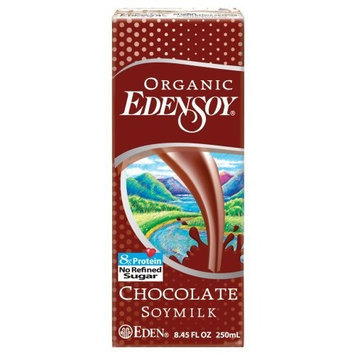 EdenSoy Organic Soymilk, Chocolate, 8.45-Ounce Boxes (Pack of 27)