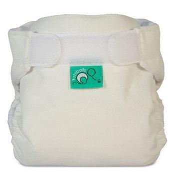Bummis Tots Bots Tini Fit Cloth Diaper, White, 5-12 Pounds