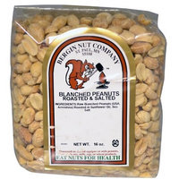 Bergin Nut Bergin Fruit and Nut Company, Blanched Peanuts, Roasted & Salted, 16 oz