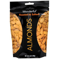 Wonderful Almonds, Roasted, 7 oz