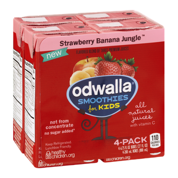 Odwalla® Strawberry Banana Jungle™ Smoothies for Kids