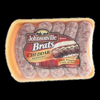 Johnsonville Brats Cheddar Bratwurst