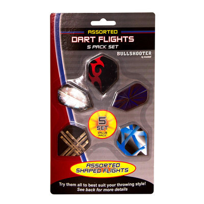 Dart Mart, Inc. Bullshooter 5 Pack Flights