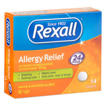 Rexall 24 hour Allergy Relief, 14 ct