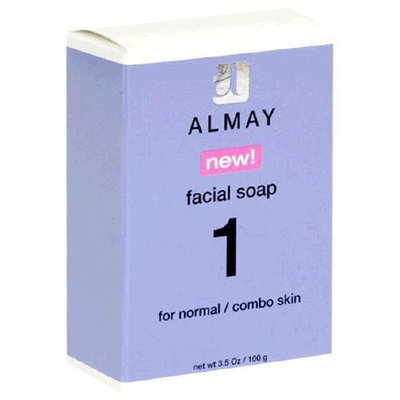 Almay Facial Soap for Normal/combo Skin, 3.5 Oz (Pack of 12)