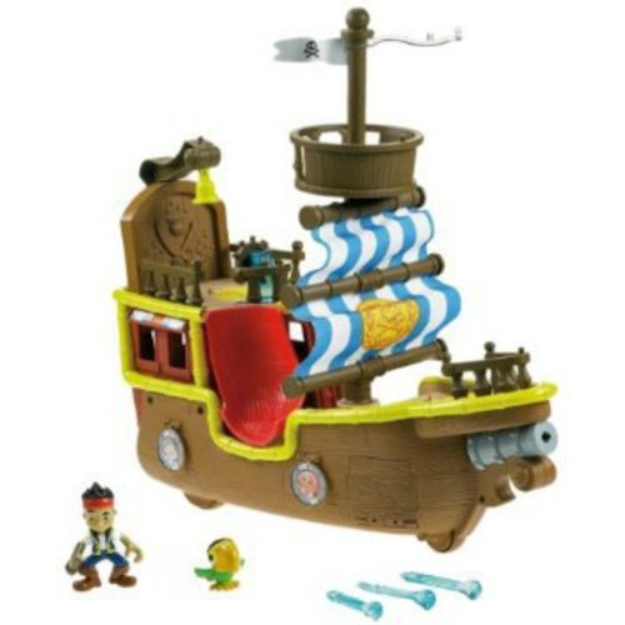 FISHER PRICE Fisher-Price Jake and the Neverland Pirates - Jake's Musical Pirate Ship Bucky