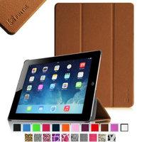 Fintie SmartShell Case for Apple iPad 4th Generation with Retina Display, iPad 3 & iPad 2, Brown
