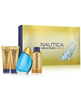 Nautica Aqua Rush Gold Gift Set