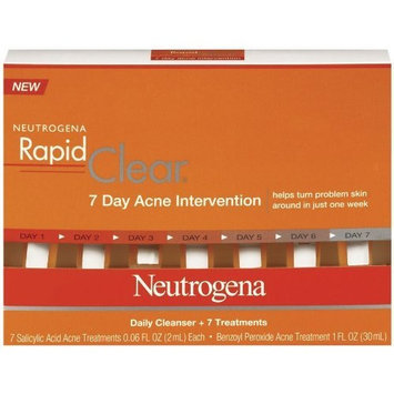 Neutrogena Rapid Clear 7-Day Acne Intervention Kit, 1 Ounce