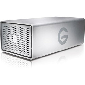 G-Technology 12TB G-RAID USB G1 Removable - Hardware RAID 2-Bay Storage Solution with Enterprise Class 7200RPM Hard Drives, Single USB 3.0