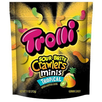 Trolli Sour Brite Crawlers Minis Tropical