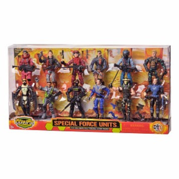 The Corps Deluxe 12 Figure Set Ages 3 +, 1 ea