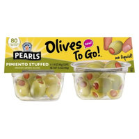 Musco Family Olive Co. Pearls Manzanilla Olives to Go 4 ct