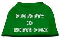 Ahi Property of North Pole Screen Print Shirts Emerald Green Med (12)