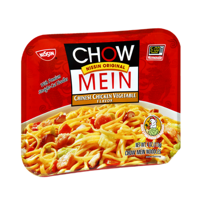 Nissin Chow Mein Chinese Chicken Vegetable Chow Mein Noodles