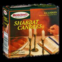 Manischewitz Shabbat Candles - 12 CT