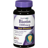 Biotin Natrol  Fast Dissolve Cherry Flavored Supplement 1