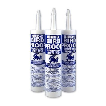Bird-X Bird Proof Bird Repellent Gel Case