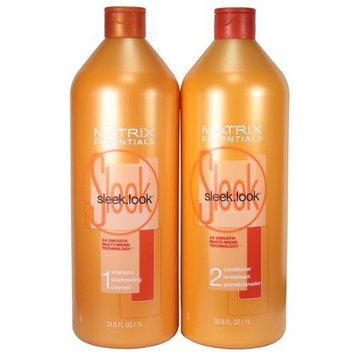 Matrix Sleek Look Shampoo and Conditioner Duo, 33.8 Ounces