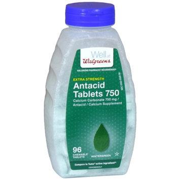 Walgreens Antacid Chewable Tablets Extra