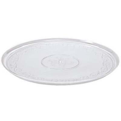 Party Dimensions 60245 16 in. Clear Plastic Tray - 50 Per Case