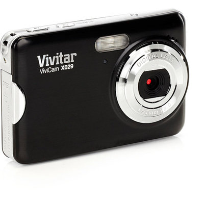 Vivitar Vivicam VX029 Digital Camera (Black)