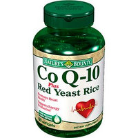 Nature's Bounty Co-Q-10 + Red Yeast Rice