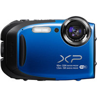 Fujifilm FUJIFILM Blue FinePix XP75 Digital Camera with 16.4 Megapixels and 5x Optical Zoom