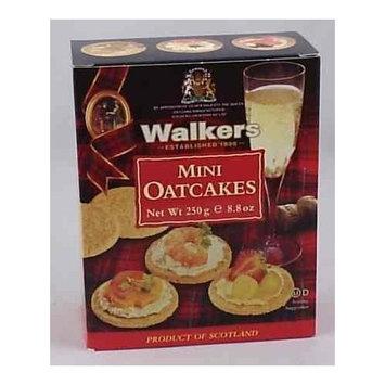 Walkers Mini Oatcake Crackers - 8.8 oz
