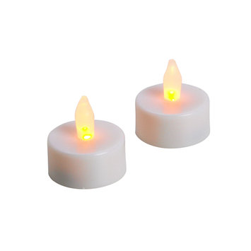 Essential Home White Flameless Candle Tea Light 2 Pack