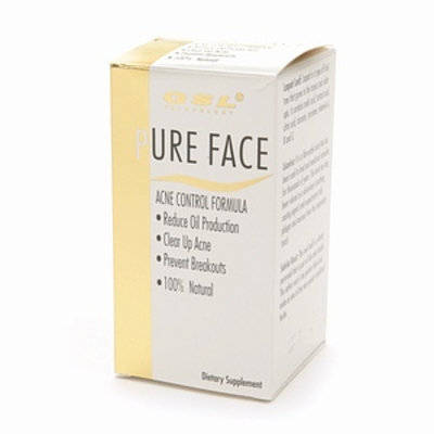 GSL Pure Face Acne Control Formula Dietary Supplement Tablets
