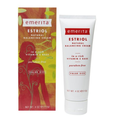 Emerita Estriol Natural Balancing Cream, 4 oz