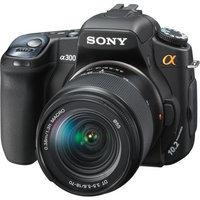 Sony Alpha DSLRA300K 10.2MP Digital SLR Camera with Super SteadyShot Image Stabilization with DT 18-70mm f/3.5-5.6 Zoom Lens (Discontinued by Manufacturer)