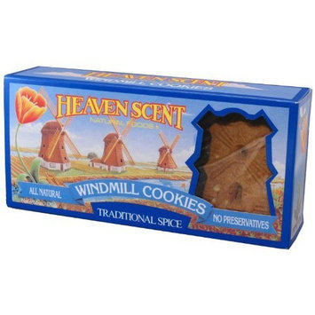 Heaven Scent Windmill Cookies, Traditional Spice, 6-Ounce Boxes (Pack of 6)