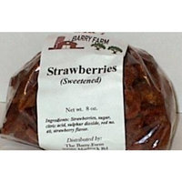 Barry Farm All natural dried strawberries OliveNation 8 oz