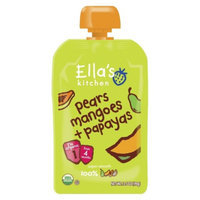 Ella's Kitchen Organic Pureed Baby Food Pouch - Stage 1 Pear Mango