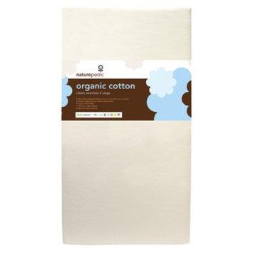 Mattress: Naturepedic Dual Firmness Organic Cotton Classic Crib