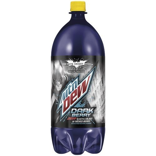 Mountain Dew Dark Berry Soda, 2 l