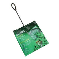 Hagen Marina 8 Inch Black Coarse Nylon with 12 Inch Handle