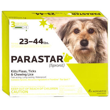 Parastar 3pk 23-44lb Flea & Tick