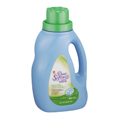 Pure Softness Ultra Fabric Softener Moutain Fresh Scent - 40 Loads